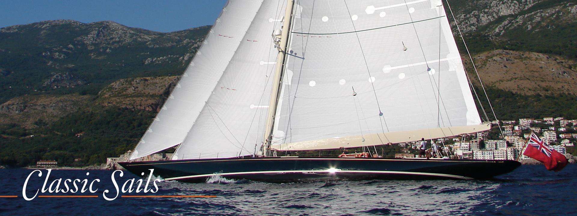 Classic yachts sails