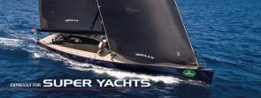 Super yachts sails