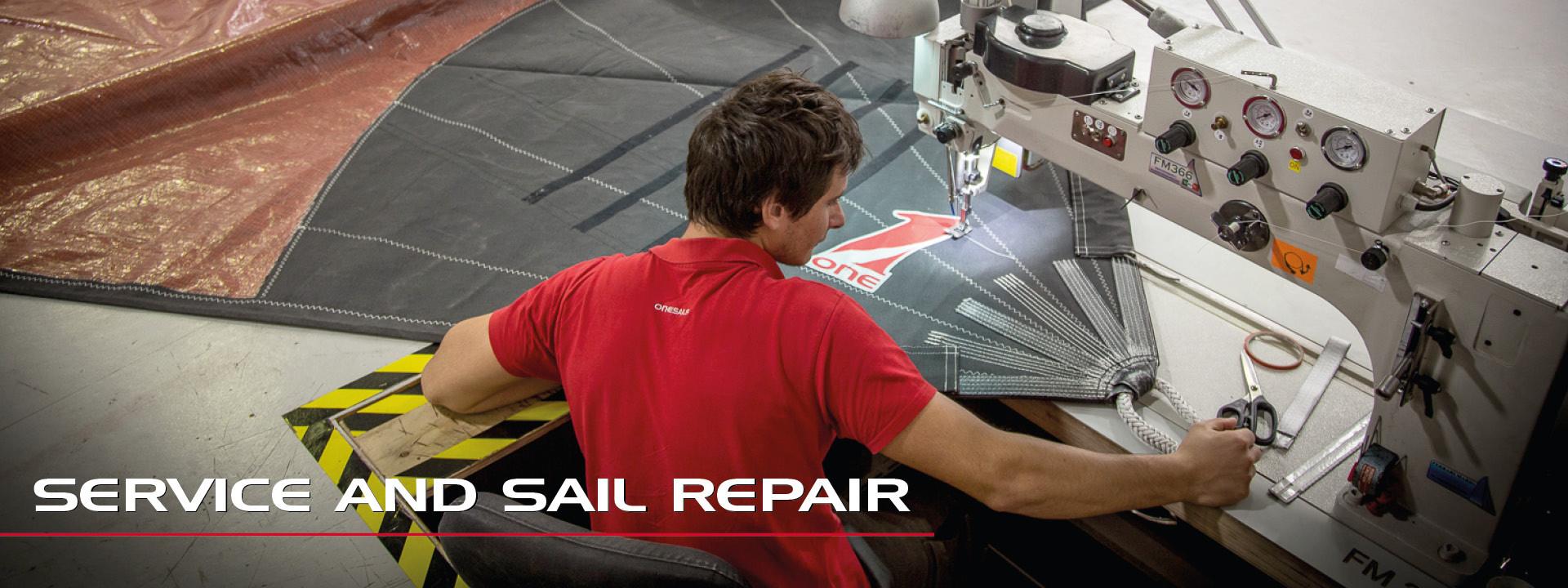 Réparation et entretien des voiles et des accessoires