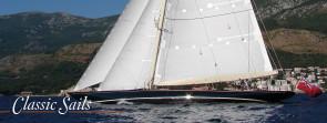 Voiles de yacht classique
