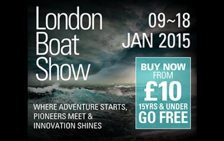 OneSails at the 2015 London Boat Show