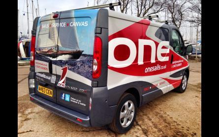 GBR East unveils their new van!
