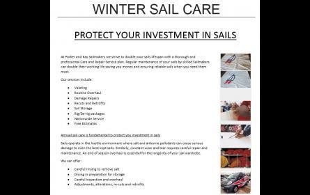 Winter Sail Care 2015