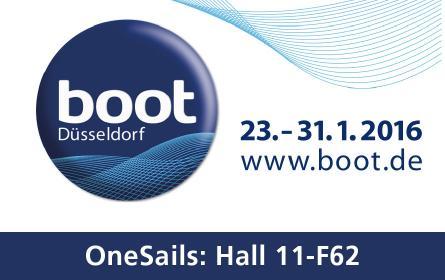 OneSails auf der BOOT Düsseldorf