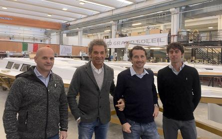 Grand Soleil and OneSails: meet the excellence of the Italian boating industry in the World