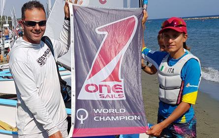 OneSails 2018 Optimist World Champion again!