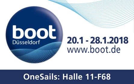 OneSails al BOOT Düsseldorf