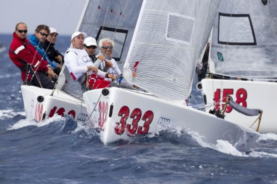 Melges20 Audi Sailing Series in Portoferraio