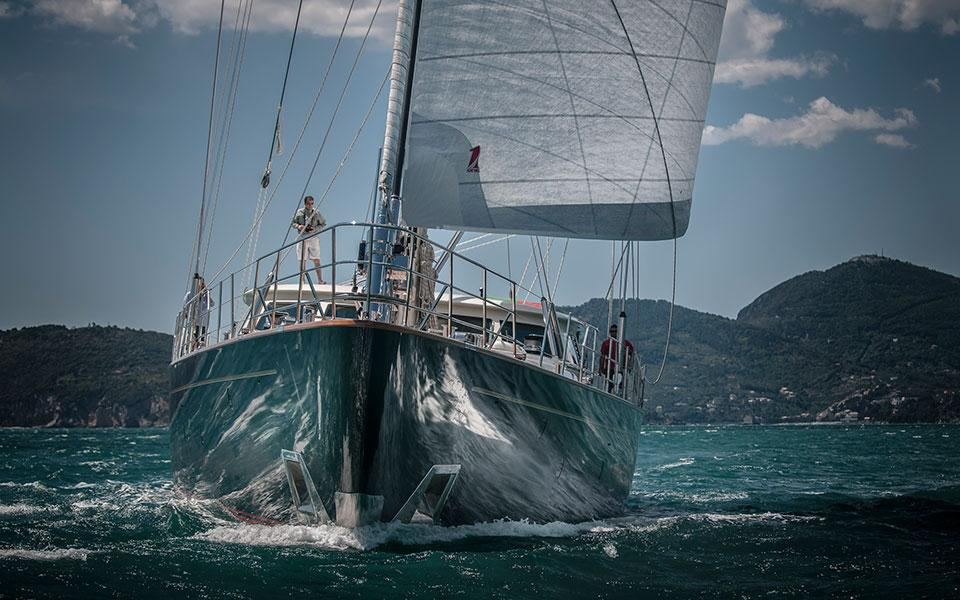 OneSails fits the 45 mt. SuperYacht