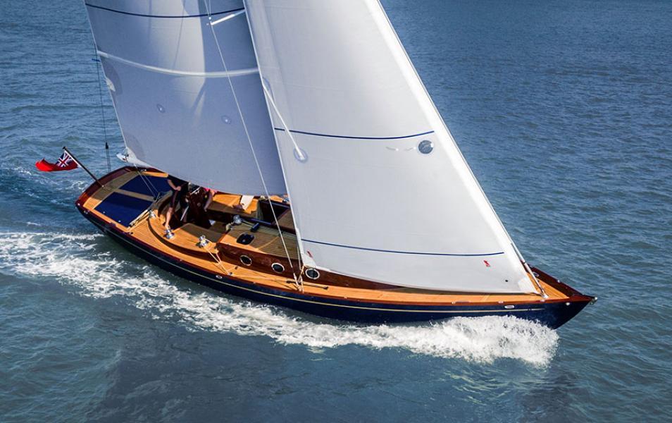 First UK solar sails for eco Spirit